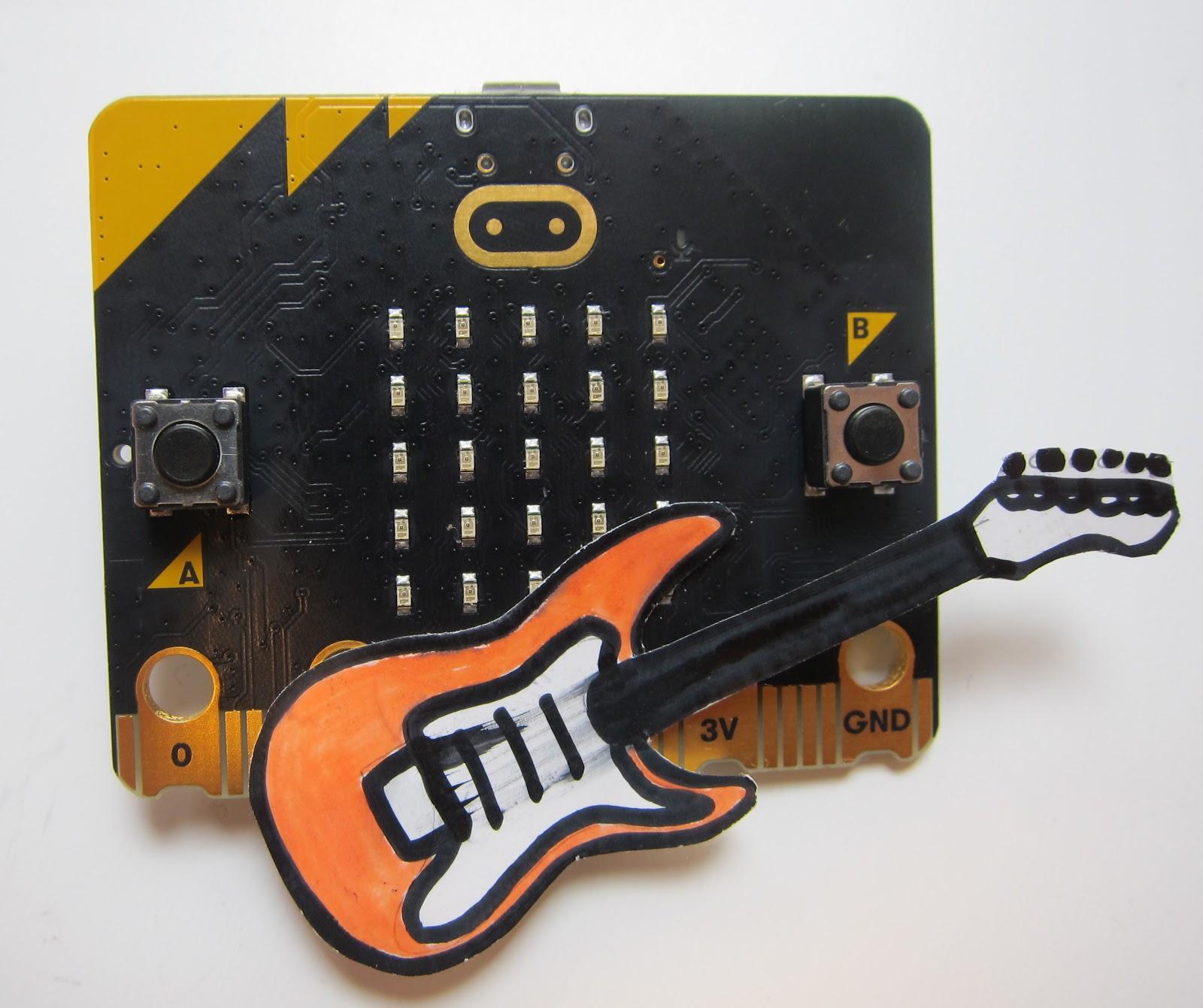 micro:bit吉他