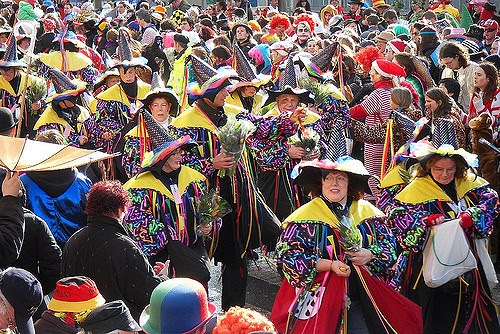parade au carnaval de Cologne