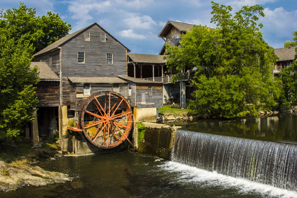 Old Mill in Pigeon Forge TN