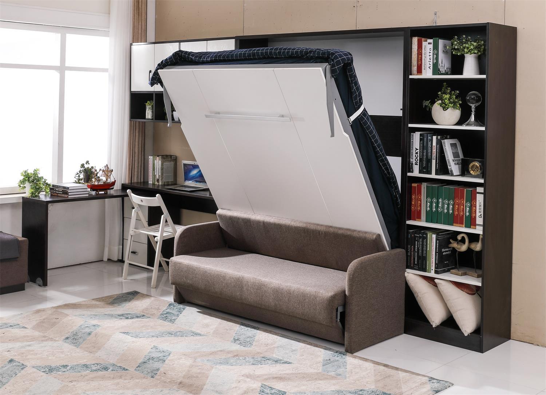 Thiết kế sofa kết hợp với giường cho không gian tiết kiệm diện tích