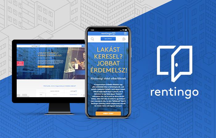 Egyedi webfejlesztés: Új keresési lehetőségek, kibővített kommunikáció LogiNet megoldásokkal a Rentingo.hu-n