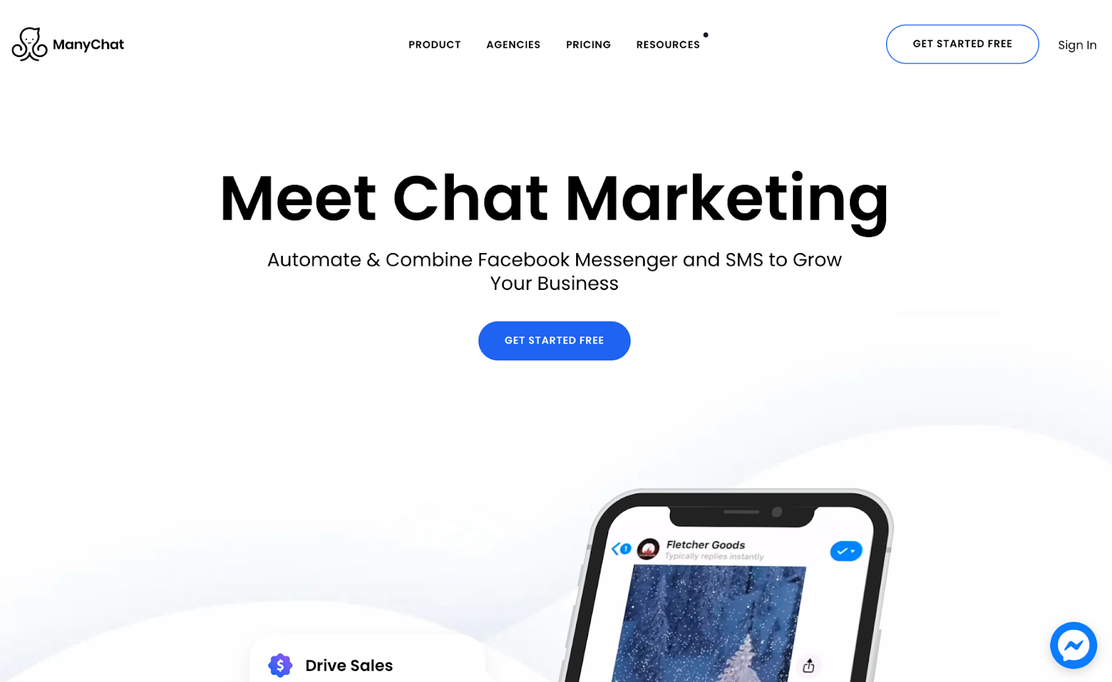 ManyChat marketing automation