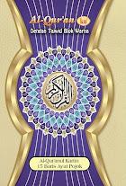 Al-Qur'an (ku) 15 Baris Ayat Pokok - Standard (Biru) | RBI