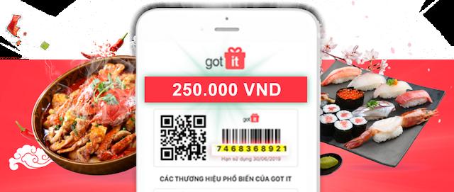 Hãy đến với thumuaphieusieuthi.com để dễ dàng thanh lý phiếu Gotit nhanh chóng và giá cao nhất