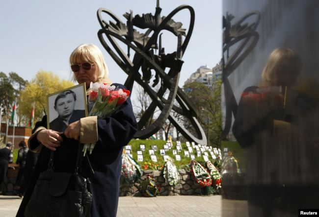 Мемориал в память о жертвах Чернобыльской аварии