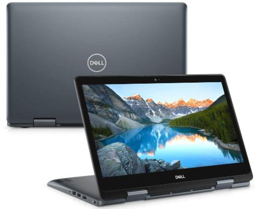 Imagem de um notebook da marca Dell modelo Inspiron 14 5000 2 em 1