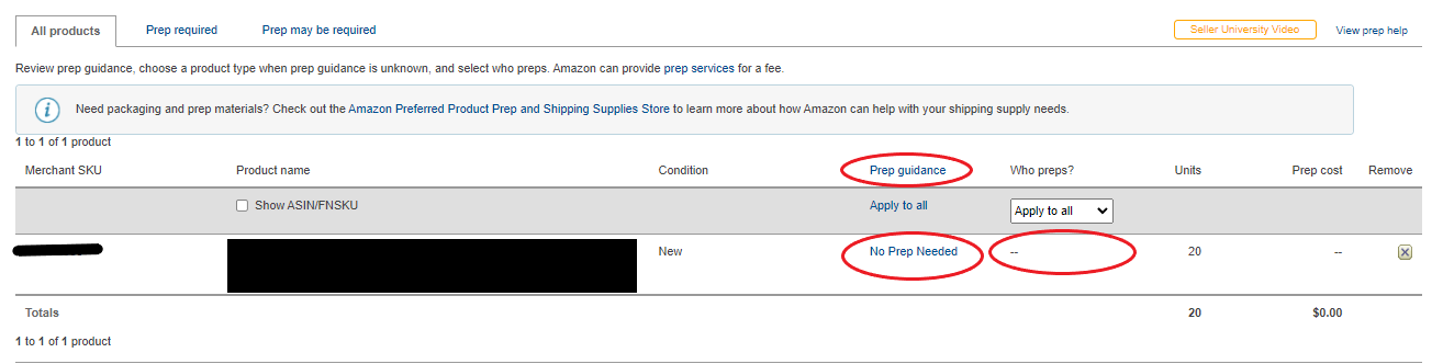 Amazon SC Screen Shot