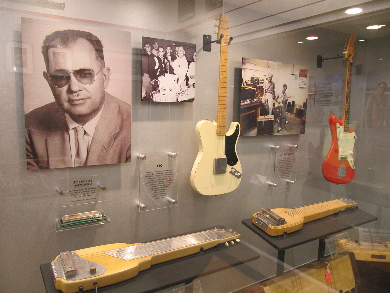 Fender Guitar Factory Leo Fender and early models