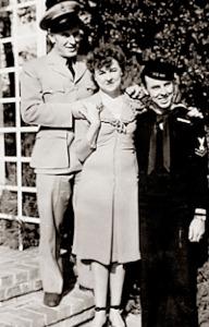 Henry, Hazel and Leonard Ruoff
