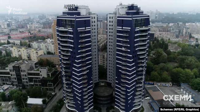 Новобудова, про яку йдеться, – ЖК Alter Ego, 24-поверховий комплекс бізнес-класу на Печерську