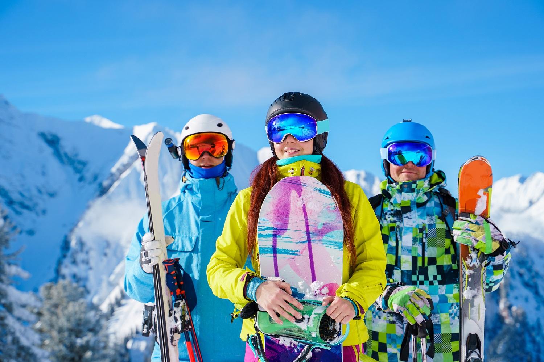 Look para ir a esquiar
