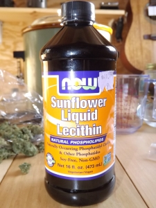 lecithin and cannabis oils for edibles - good trick