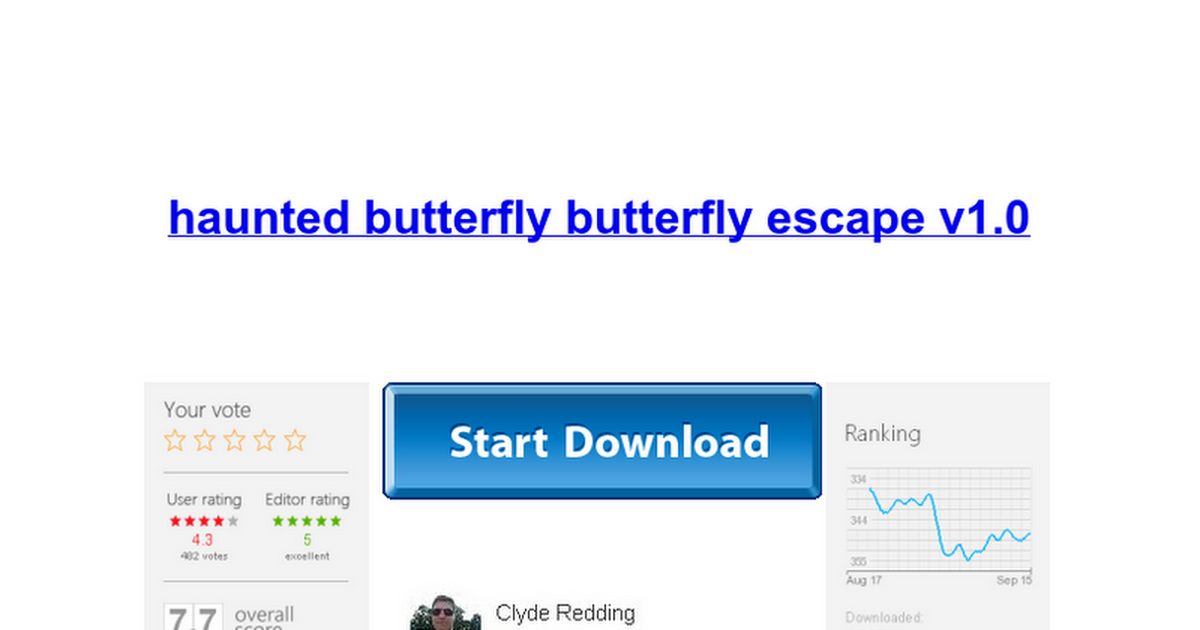 haunted butterfly butterfly escape v1.0 - Google Docs