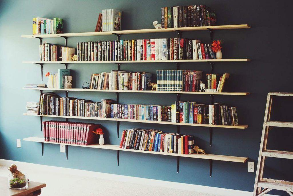 Home Library Bookshelf Hacks