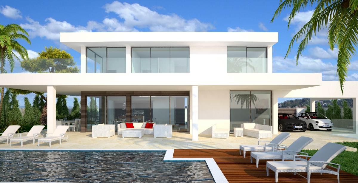 Construcci n de casas contruccion de casas modernas y antiguas - Construccion de casas modernas ...