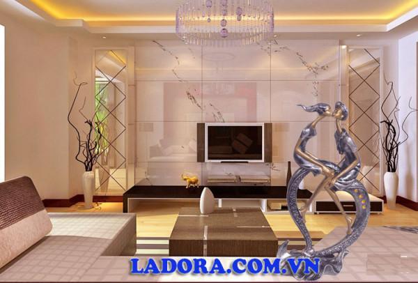 Đồ trang trí phòng khách đẹp chắp cánh cho sự sáng tạo và nghệ thuật