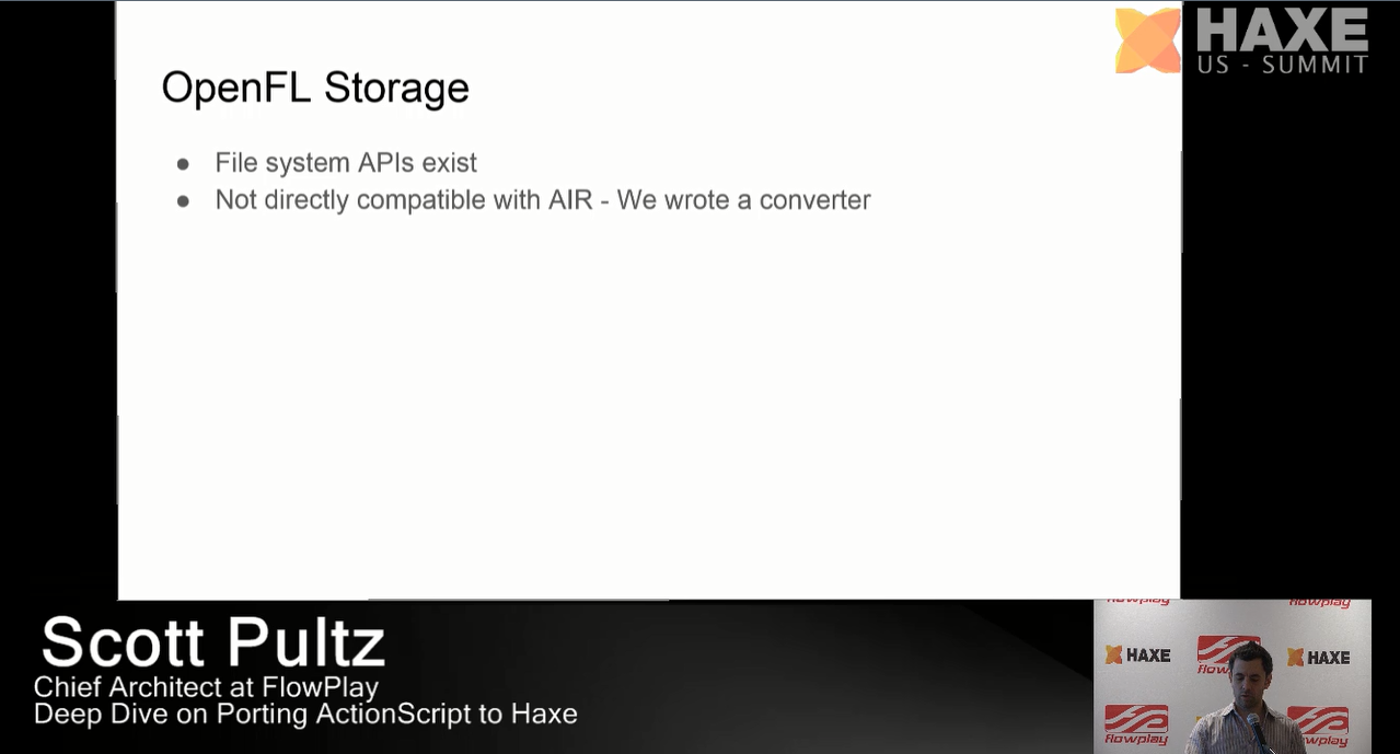 OpenFL Storage