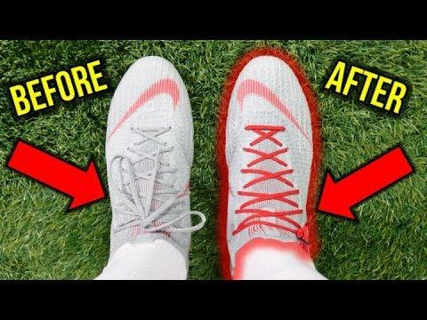 Image result for How do I lace football cleats?