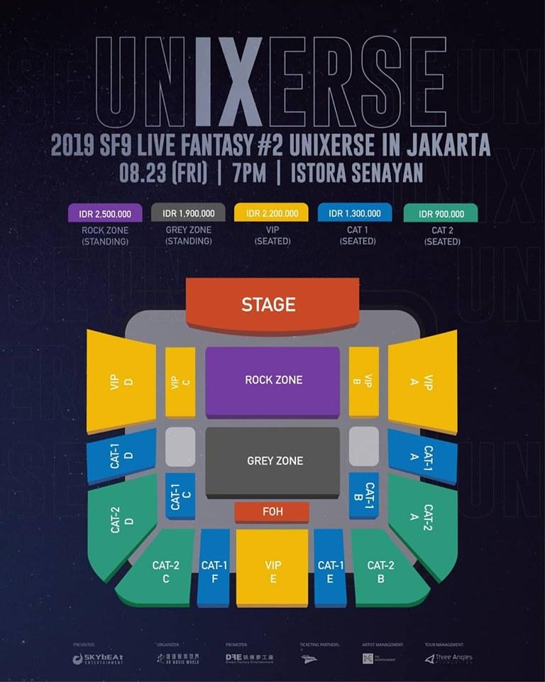 Akhirnya SF9 Akan Gelar Konser di Jakarta, Udah Beli Tiketnya?