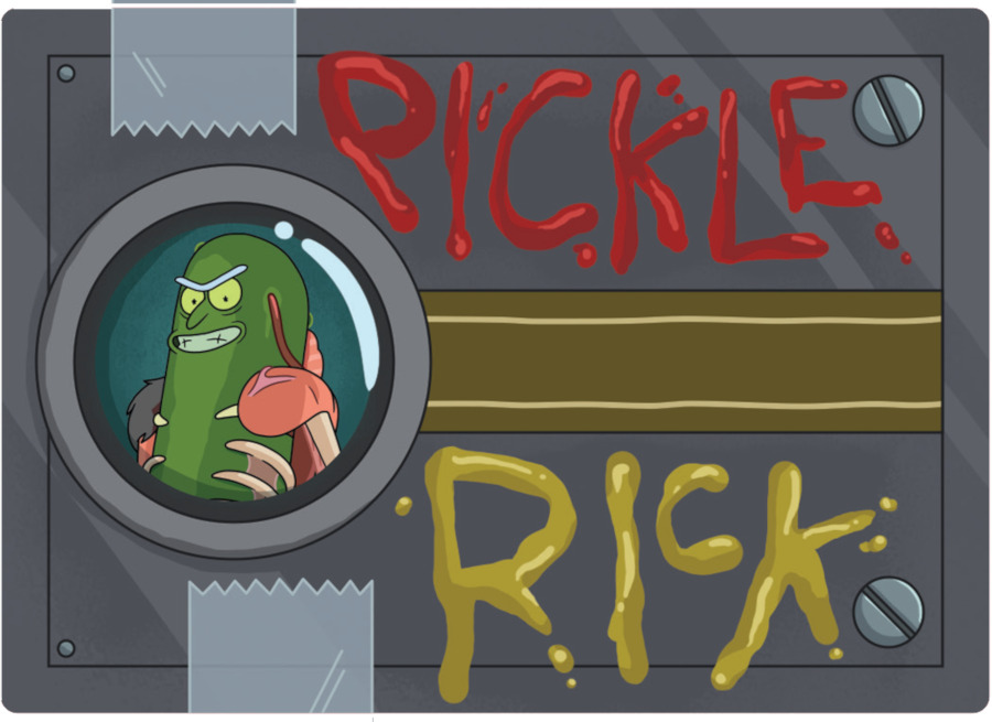 Rick and Morty Trading Cards: Metallic Card Pack