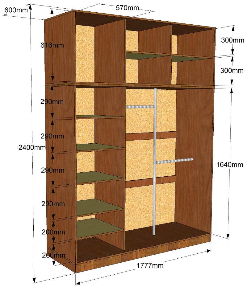 Какие виды шкафов можно сделать своими руками в домашних условиях