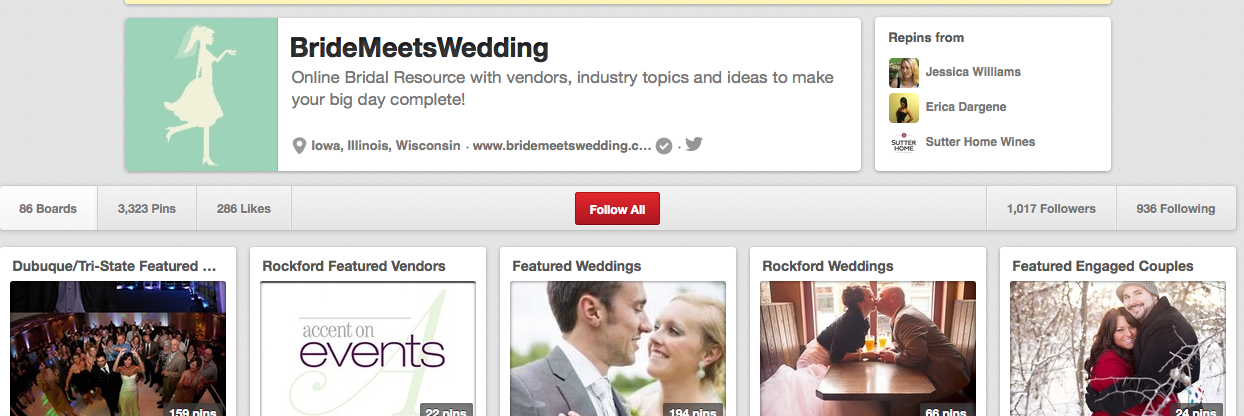 Bride Meets Wedding Pinterest
