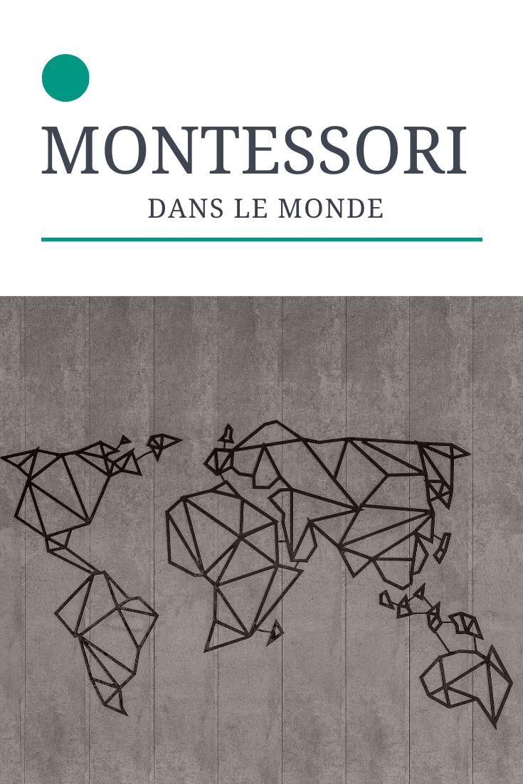 Montessori dans le reste du monde