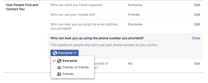 Facebook's Phone Number Policy Could Push Users to Not Trust