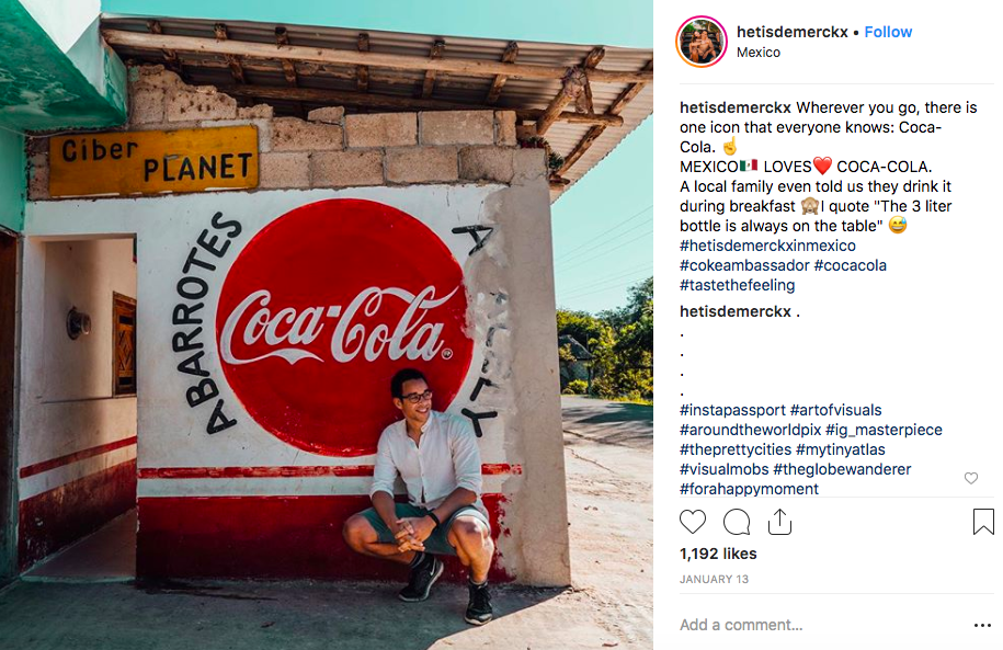 influencer marketing campaign example Coca-Cola