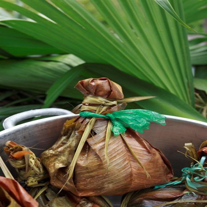 Juane comida típica y tradicional de la Noche de San Juan