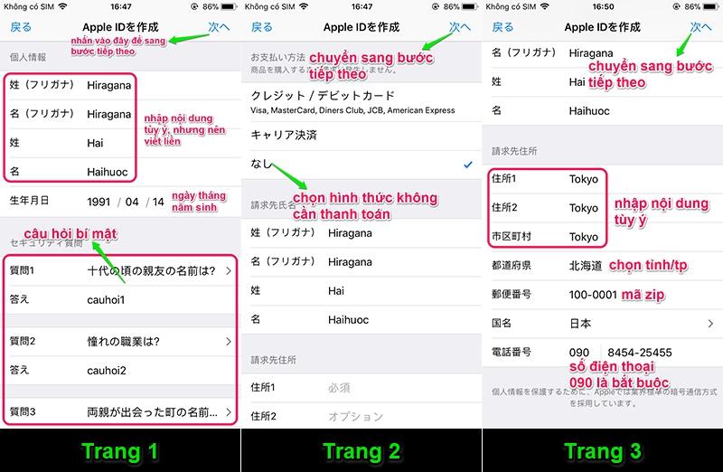 Hướng dẫn tạo ID Apple Nhật Bản không cần xác minh hình thức thanh toán