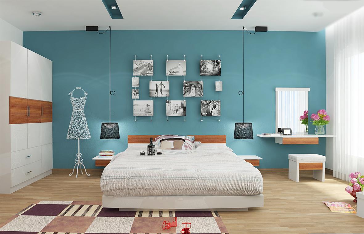 Phòng ngủ đẹp nhỏ 6