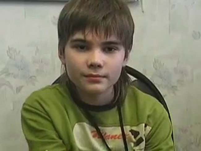 Cậu bé sao Hỏa Boriska.