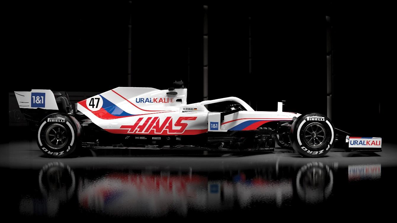 FIRST LOOK: Haas reveal fresh new livery for Schumacher and Mazepin's F1  debuts   Formula 1®