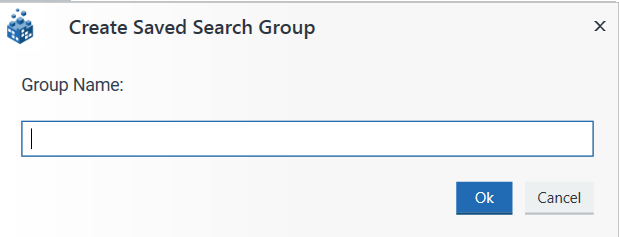 Create a Saved Search Group