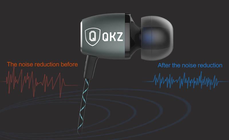 Casti QKZ X36M – Cut of the noise