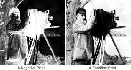 A negative and a postive print.