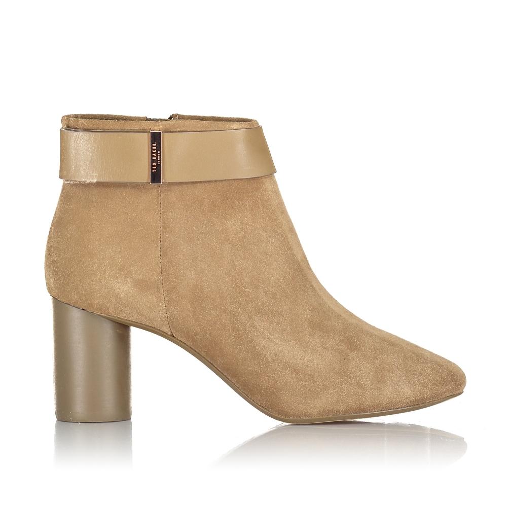 Mharia Circular Heel Ankle Boots