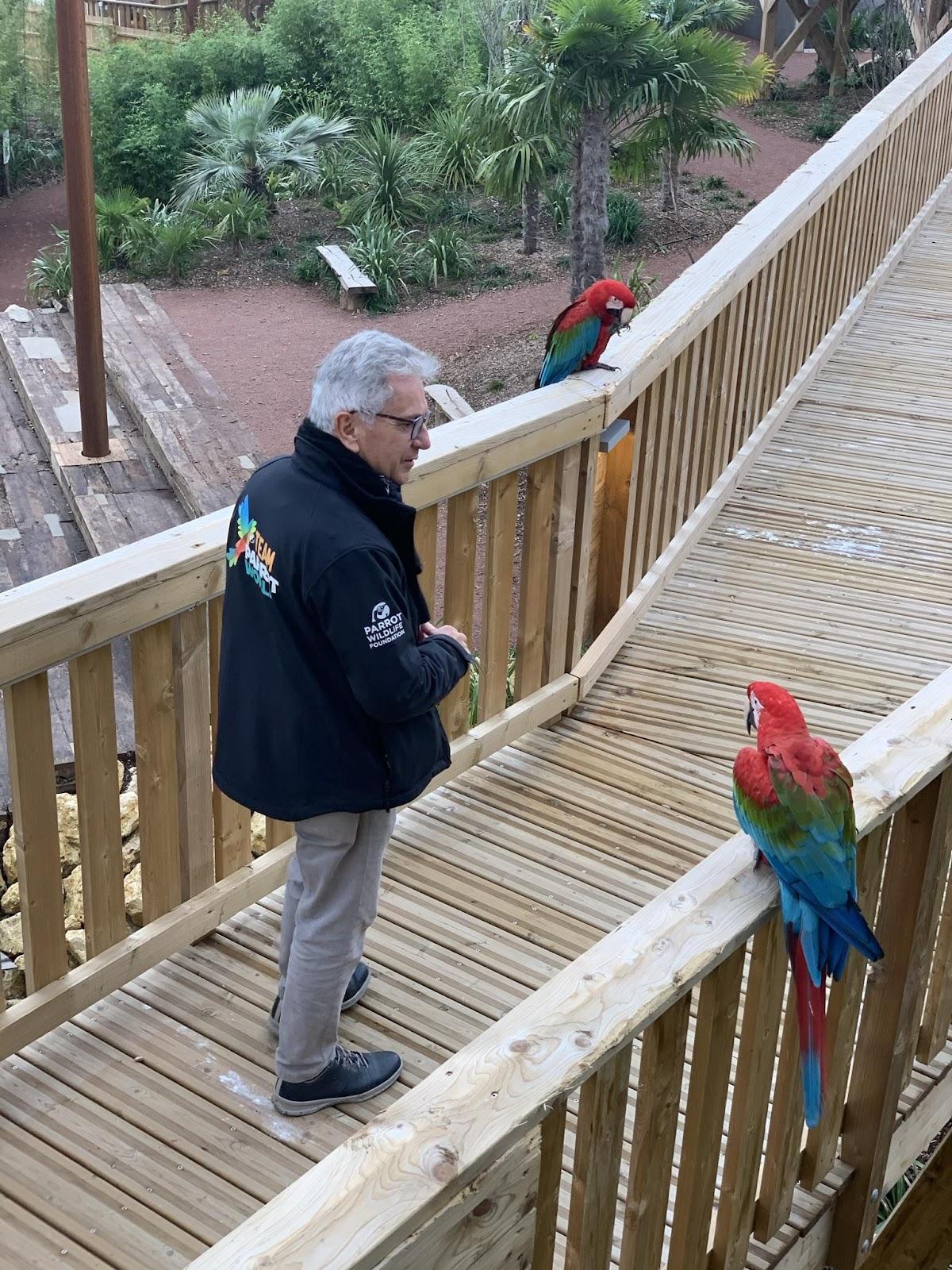 Eric Vignot, Fondateur de Parrot World