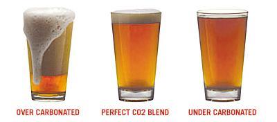Image result for over carbonated keg beer