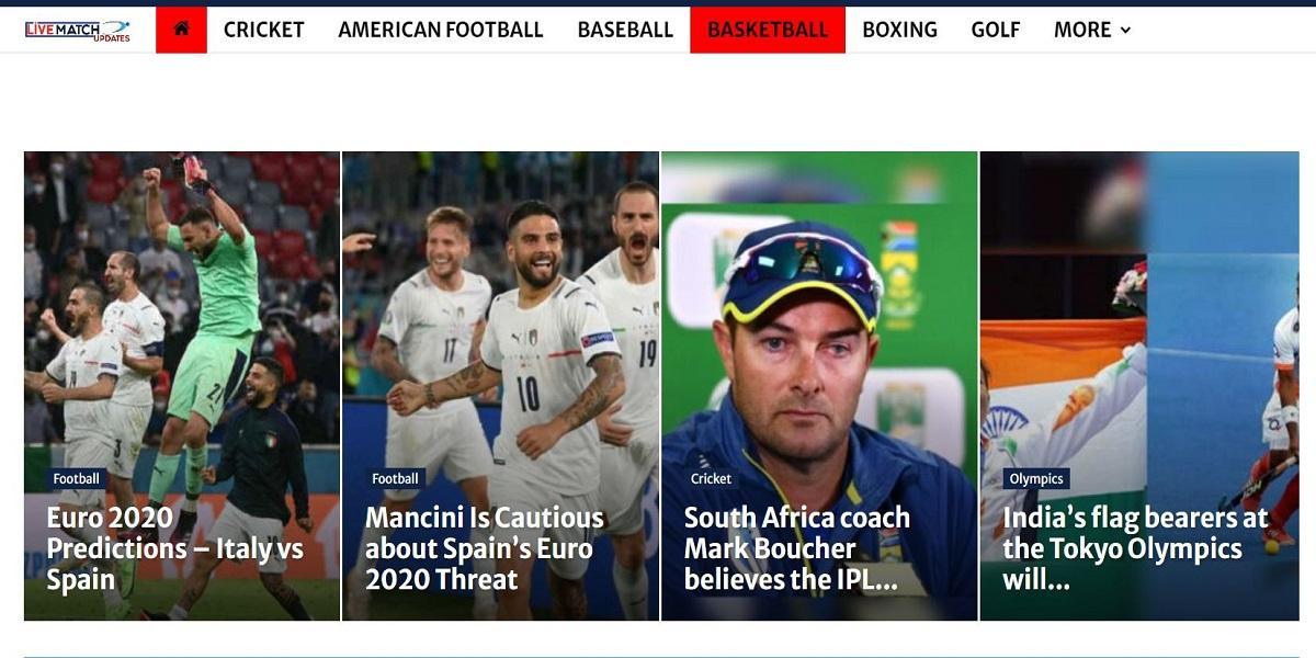 Top 9 website thể thao làm mưa làm gió tại India