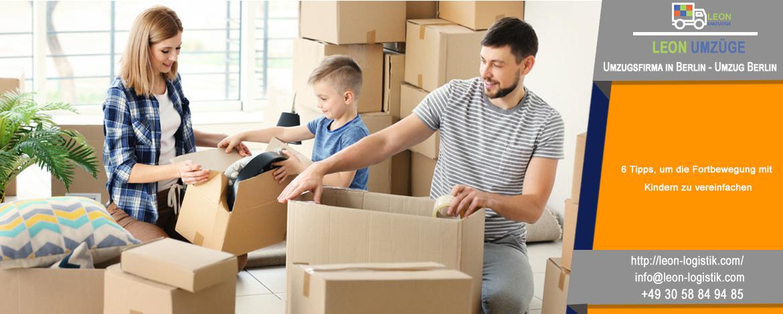 6 Tipps, um die Fortbewegung mit Kindern zu vereinfachen | Die Leitfaden von Leon Umzüge : Umzugsfirma in Berlin