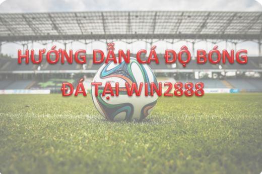 Hướng dẫn cá độ bóng đá qua mạng Internet win2888