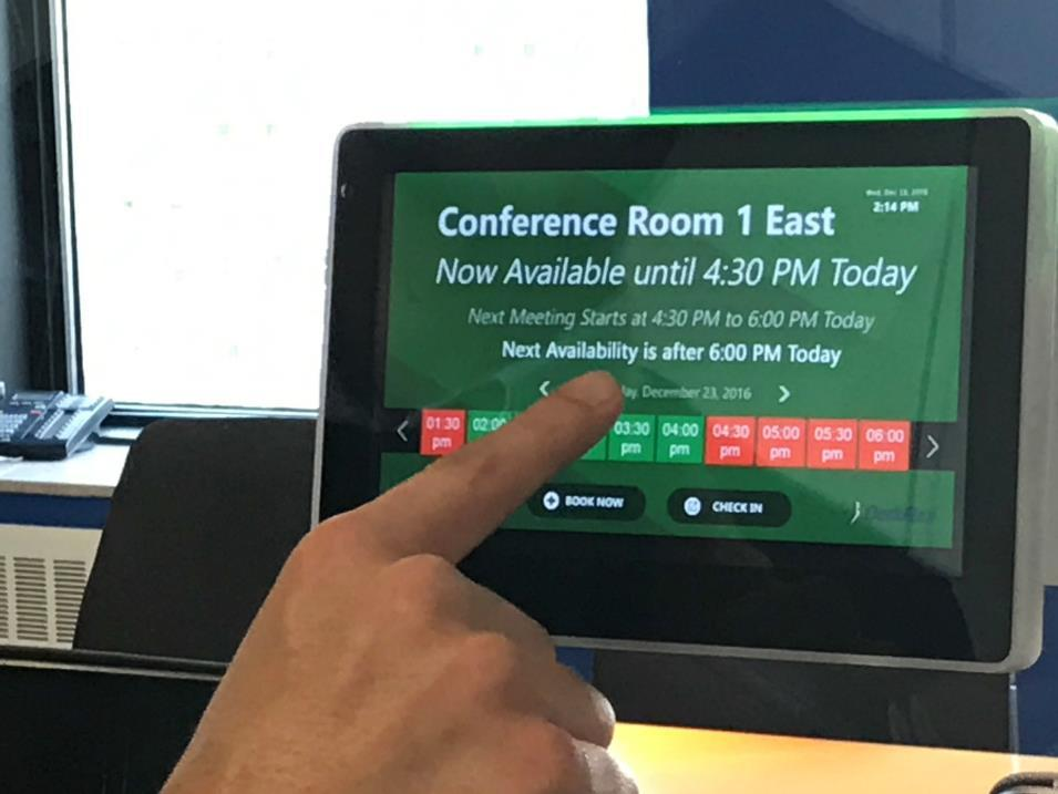 Hacking from meeting rooms