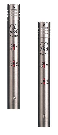 AKG C541B set