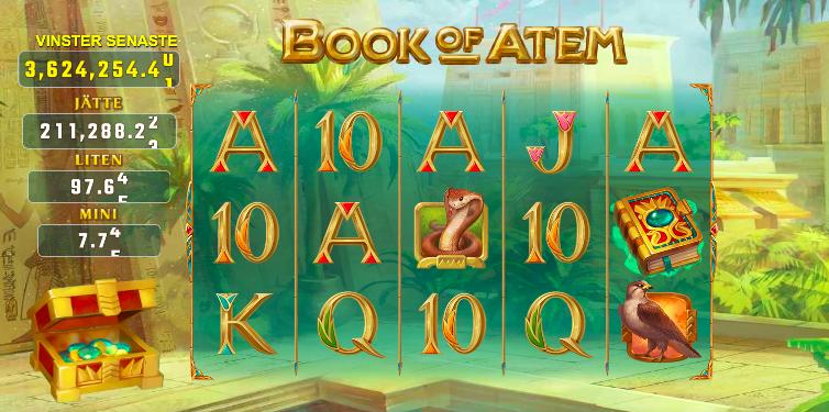 Book of Atem WowPot Slot.