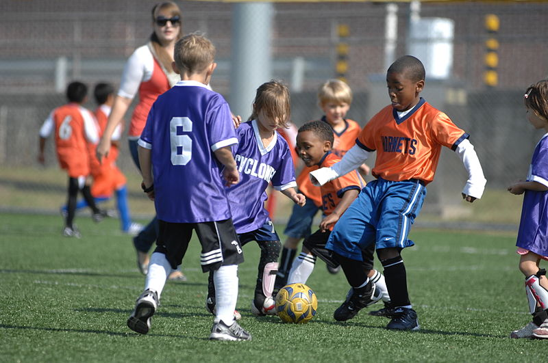 Children playing soccer - Should My Child Play Soccer?