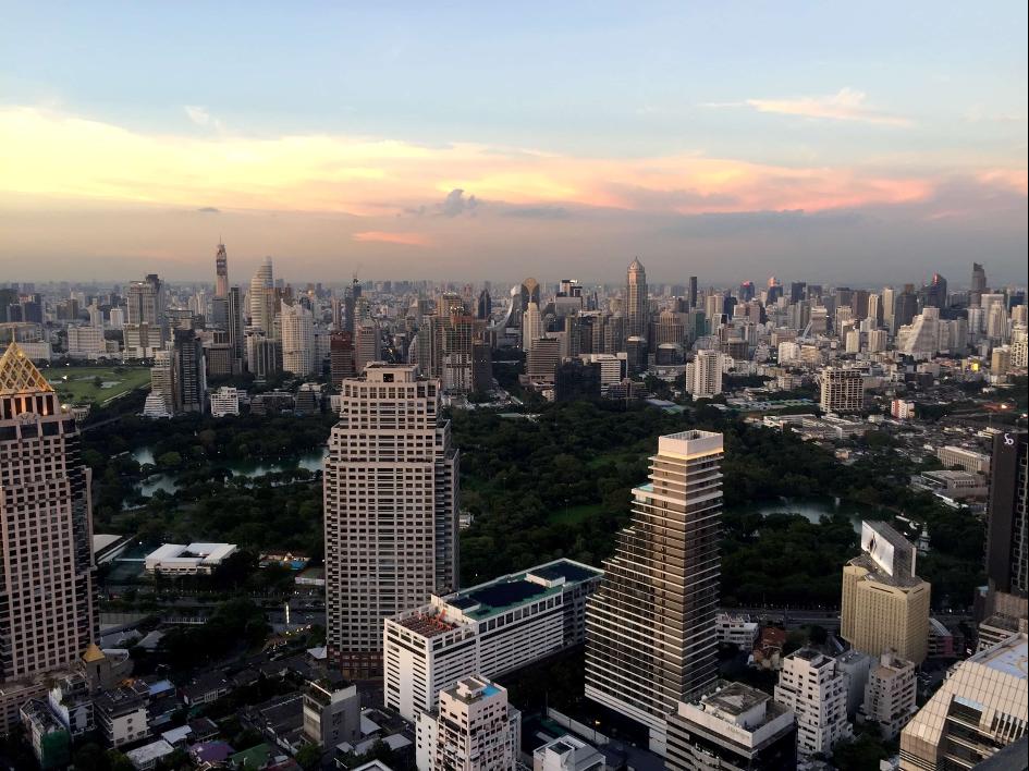 Bangkok z výšky