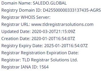 Saledo Global: отзывы о брокере, обзор деятельности