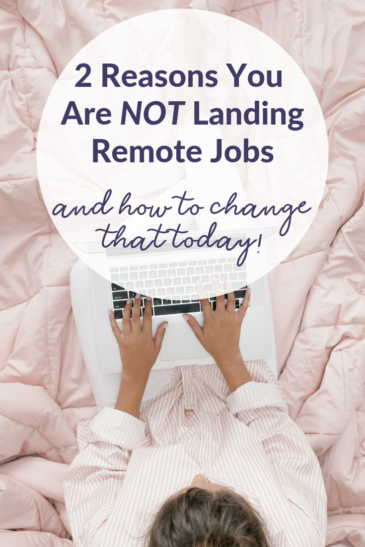 Girl working on laptop, remote work